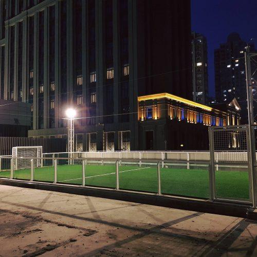 open indoor soccer center