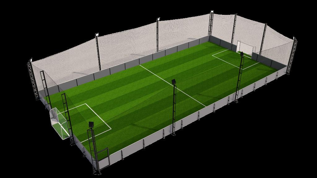 5 a side soccer pitch