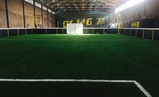 Indoor soccer center design & branding