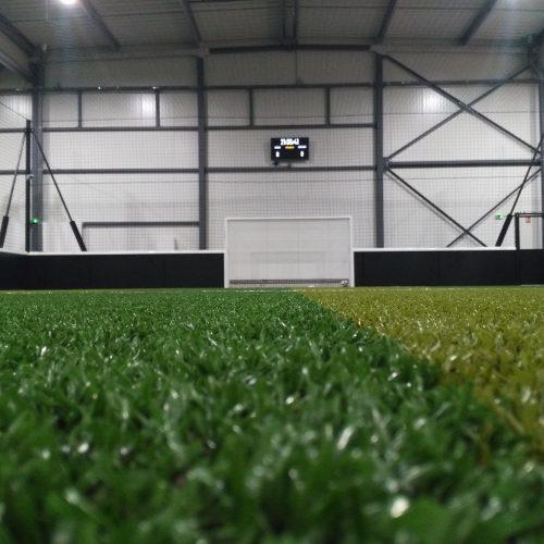 terrain de foot en salle