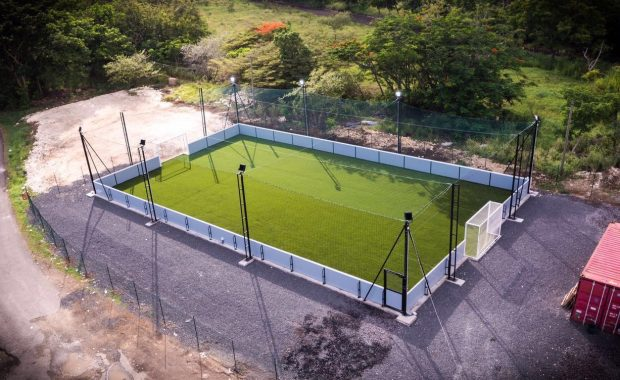 Indoor soccer center