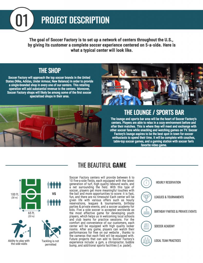 Build indoor soccer fields