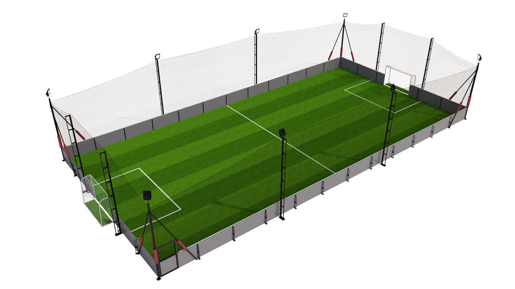 5 a side soccer pitch