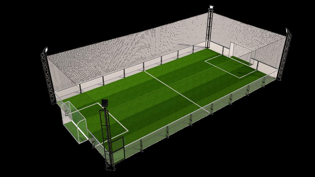 Terrains de foot en salle